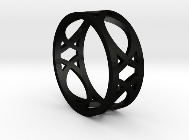 Deco Ring : size 7 3d printed