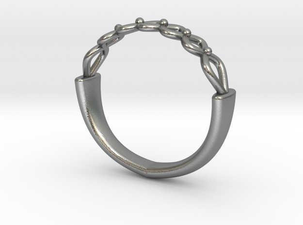 Celtic Weave Ring 3 3d printed