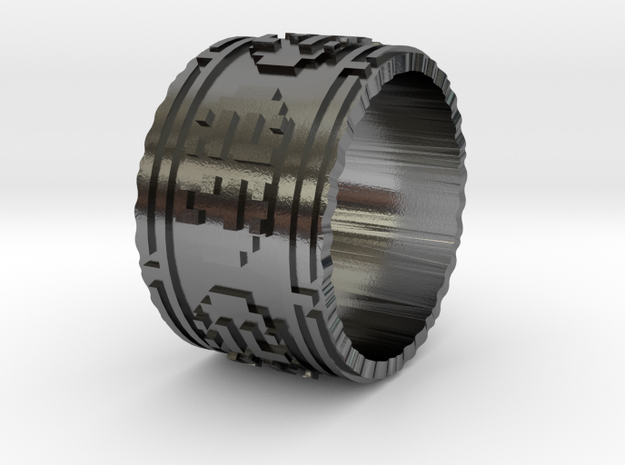 Journey Ring 9 3d printed