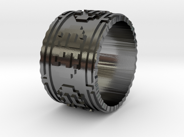 Journey Ring 8 3d printed