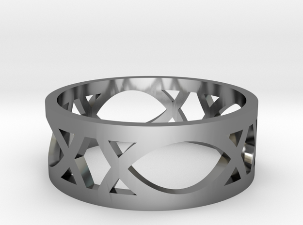 Deco Ring : size 8.5 3d printed