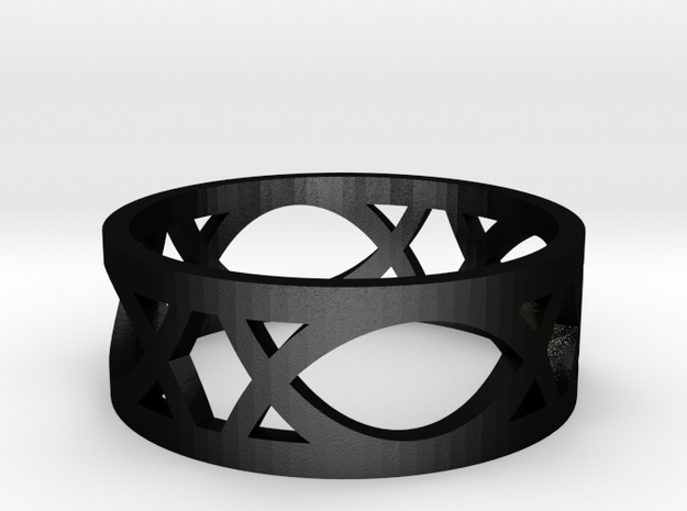Deco Ring : size 8 3d printed