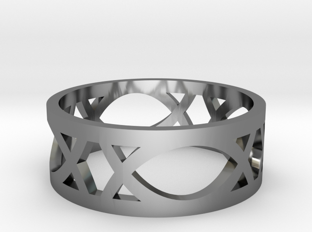 Deco Ring : size 9 3d printed