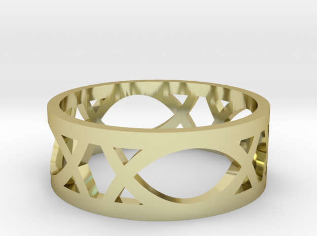 Deco Ring : size 7.5 3d printed