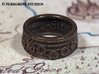 Ring - Song of Time (Size 7) 3d printed Antique Bronze Glossy