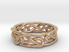 Celtic Infinity Knot Ring Size 5.5 3d printed