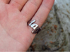 Someday Ring (Size US 8) 3d printed Stainless Steel (polished)