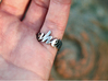Somewhere Ring (Size US 12) 3d printed Stainless Steel (polished)