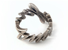 Amour Fou Ring (US Size 7.5) 3d printed Stainless Steel