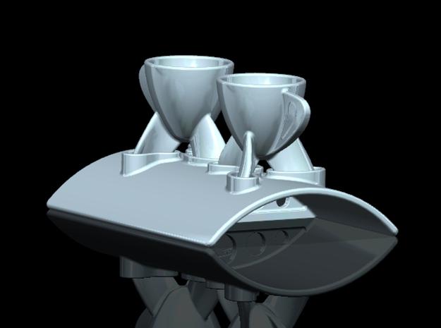 AEROcup plate 3d printed