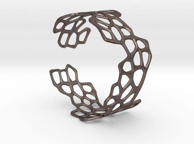 Cells Bracelet (open, 60mm) 3d printed