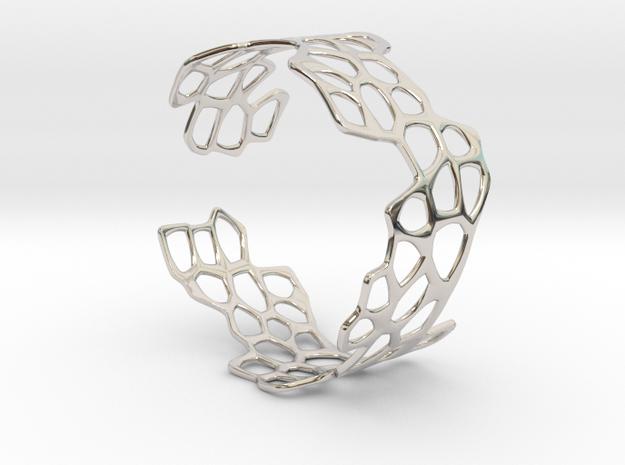 Cells Bracelet (open, 67mm) 3d printed