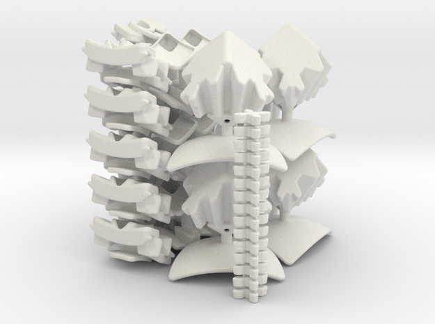 Geared 5x5x5 - set 2 - 2x 3d printed
