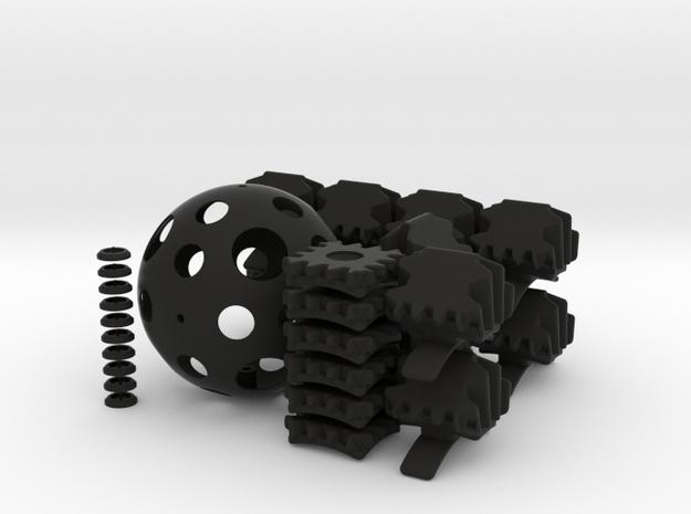 Geared 5x5x5 - set 1 - 1x 3d printed