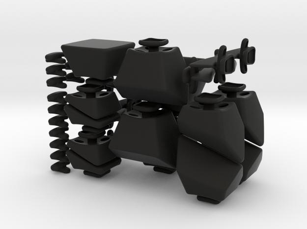 Mixup 3x3x4 - Set 2 - 2x 3d printed