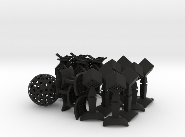 Over The Top - set 1 - 1x 3d printed