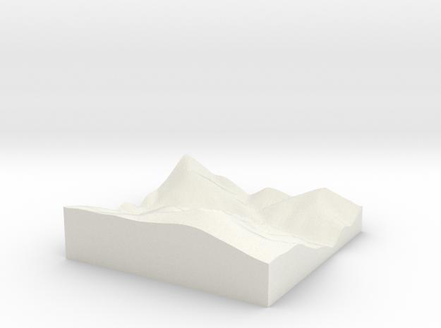 terrain test 3d printed