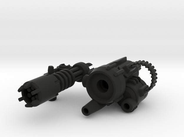 D.R.E.A.D Suppressor minigun (Left) 3d printed