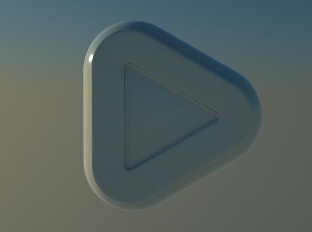 Triangular Entree Bowl  3d printed