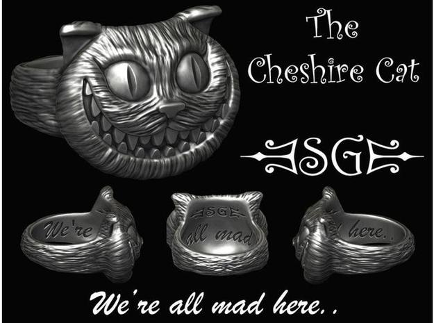 Cheshire Cat - Size 11 3d printed Digital Design