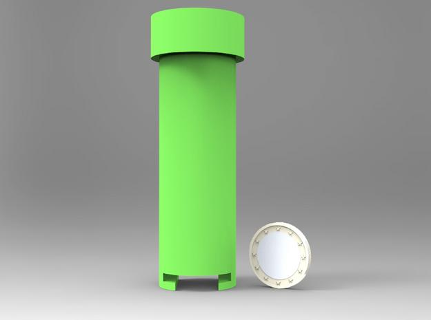 Mario Coin Pipe (5SEK) 3d printed