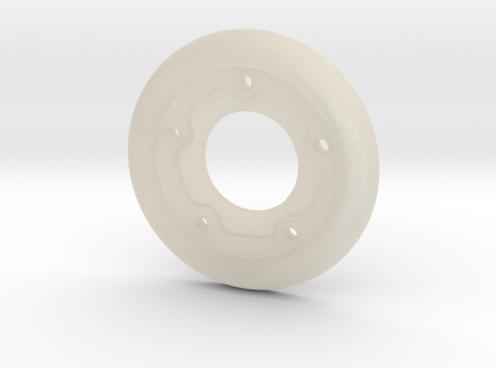 SR60001 SRB 5 Lug Wheel insert (1 ONLY) 3d printed