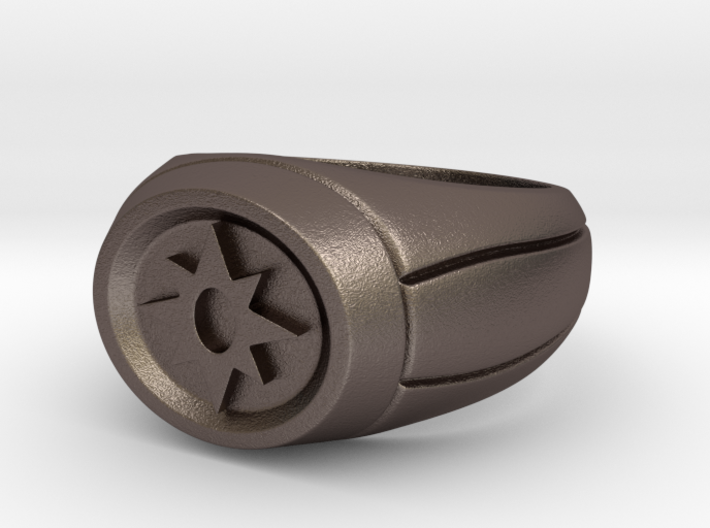 21.4 mm Violet Lantern Ring 3d printed