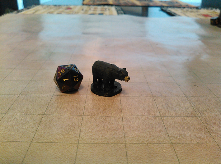 Black Bear 3d printed