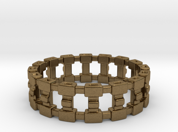 Treya Ring - US size 11 3d printed