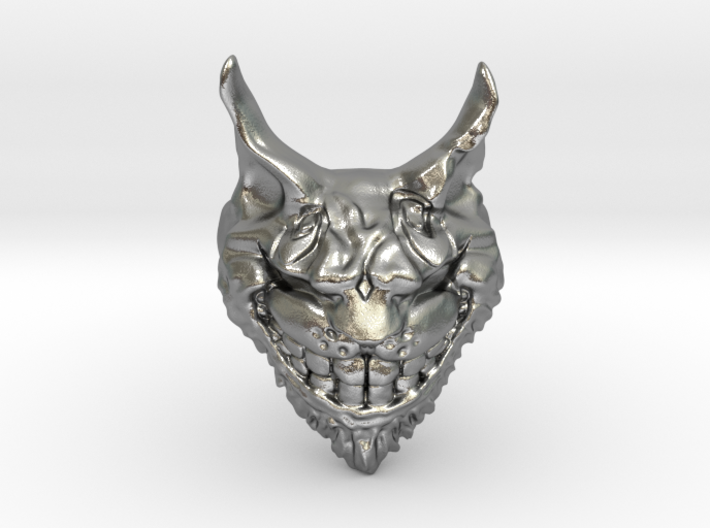 Alice In Madness Cheshire Cat Ring US 4.5 3d printed
