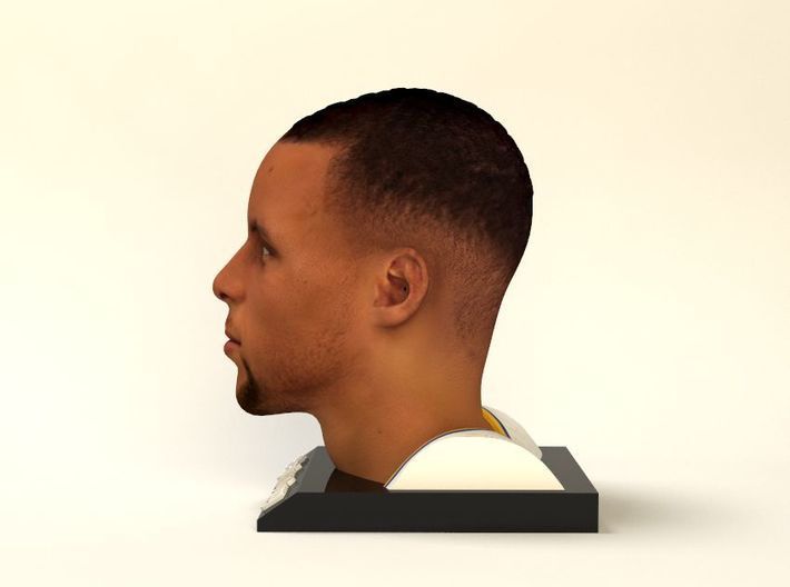 Stephen Curry figure 3d printed