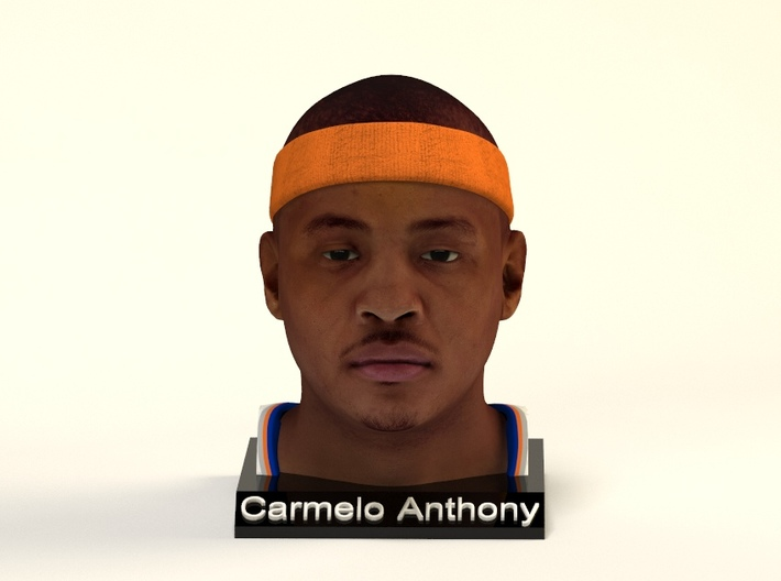 Carmelo Anthony figure 3d printed