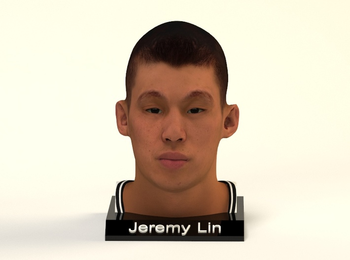 Jeremy Lin figure 3d printed