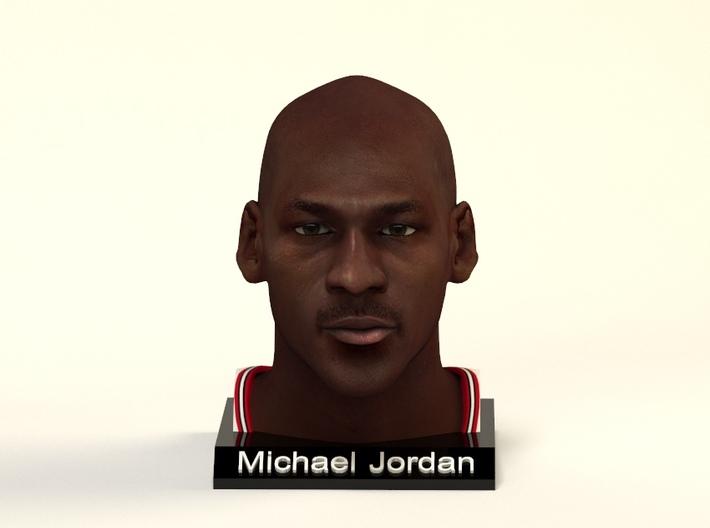 Michael Jordan figure 3d printed