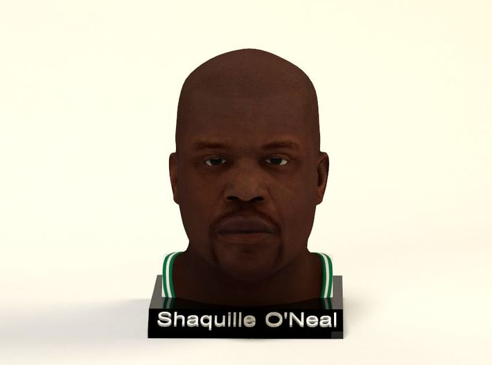 Shaquille O'Neal figure 3d printed