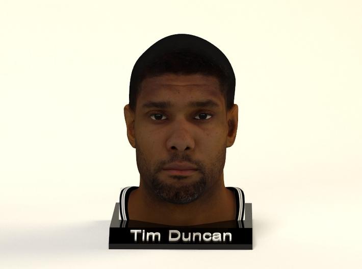 Tim Duncan figure 3d printed