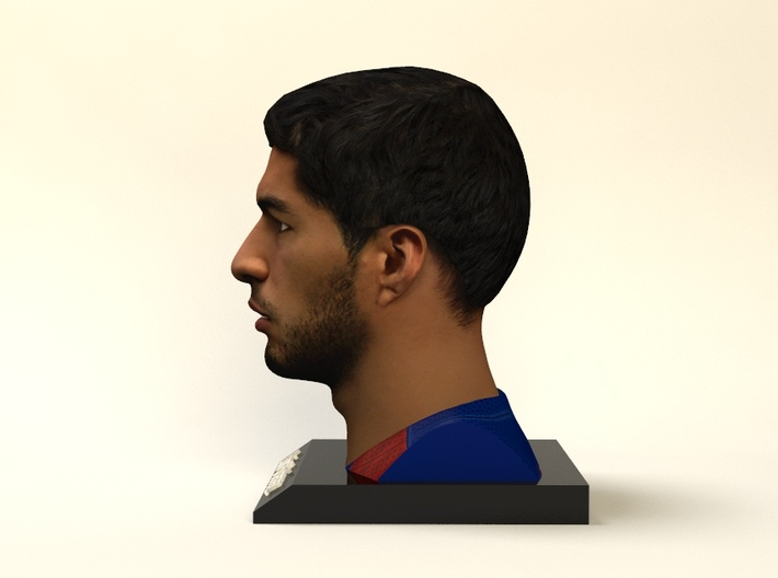 Luis Suárez figure 3d printed