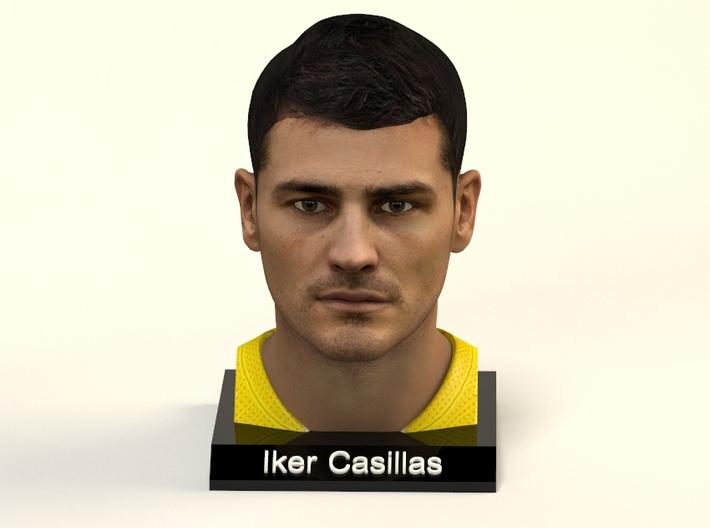 Iker Casillas figure 3d printed