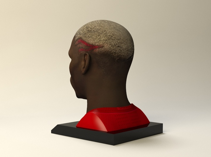 Paul Pogba figure 3d printed