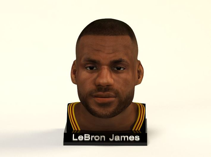 LeBron James figure 3d printed