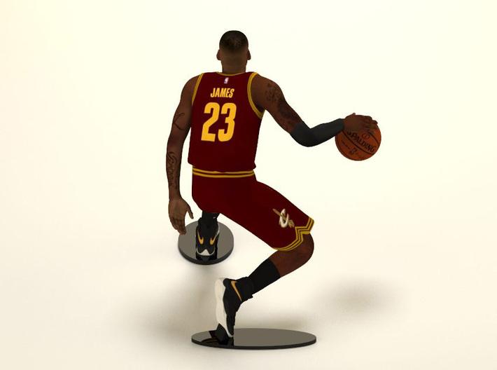 LeBron James 1/6 Dribble Figure 3d printed