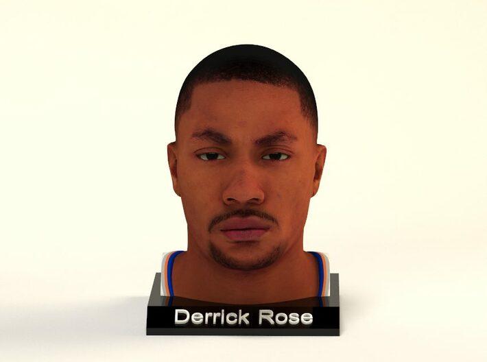 Derrick Rose figure 3d printed
