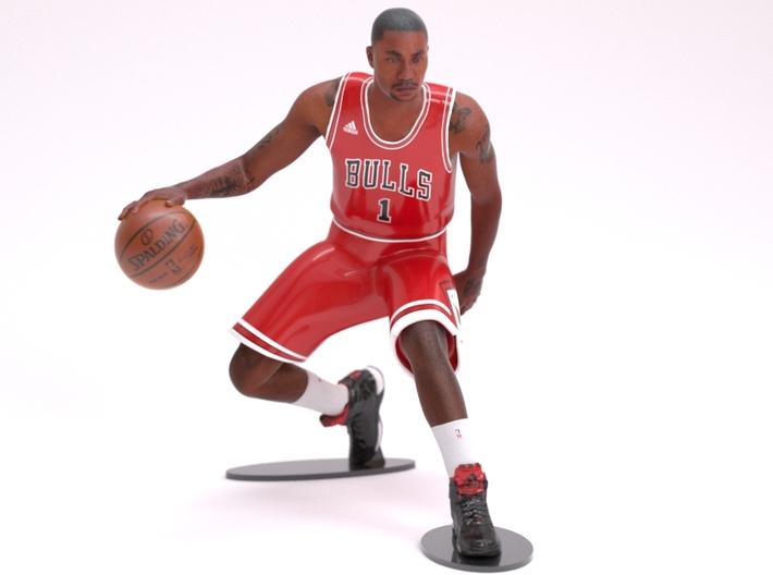 Derrick Rose 1/8 Dribble figure 3d printed