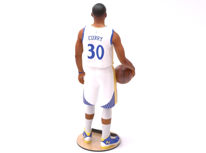 Stephen Curry 1/8 Standing Figure 3d printed