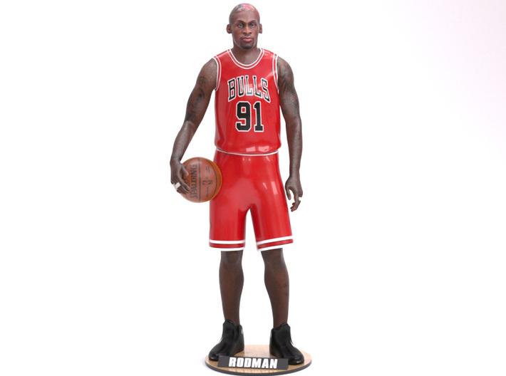 Dennis Rodman 1/8 Standing Figure 3d printed