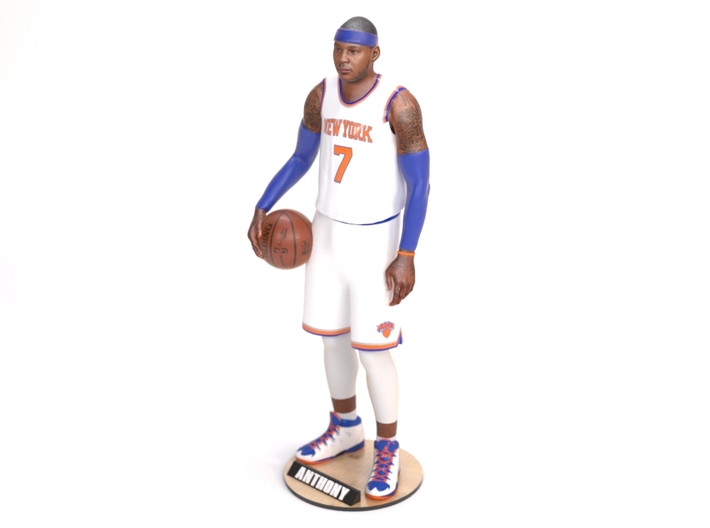 Carmelo Anthony 1/8 Standing Figure 3d printed