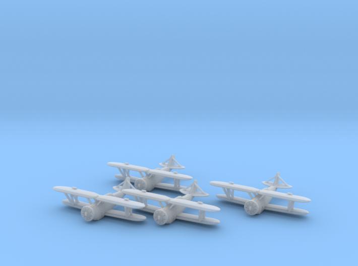 Grumman FF-1 'Fifi' 1:200 x4 FUD 3d printed