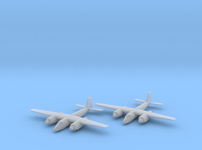 Focke-Wulf Ta.154 1:200 x2 FUD 3d printed