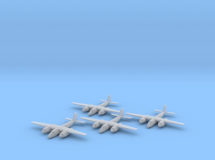 Focke-Wulf Ta.154 1:200 x4 FUD 3d printed