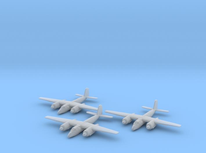 Focke-Wulf Ta.154 1:200 x3 FUD 3d printed